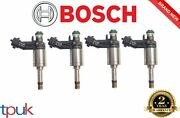 Land Rover Range Rover 2.0 Fuel Injector Petrol Bosch Eco Boost 2011 On Set Of 4