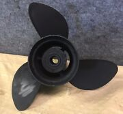 Clean Used Omc Johnson And Evinrude 14 1/4 X 21 Pitch Stainless Propeller