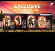 Sdcc 2017 Exclusive Skybound The Walking Dead Shiva Force Regular And Bloody