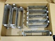 Lot Of 20 Stainless Letter Box Mail Slot Door Sleeves. 3 Sizes. Baldwin Brass