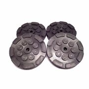 Rubber Lift Arm Pads 4 For 2-post Atlas And Peak Auto Lifts 209134 Ships Fast