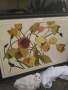 Shirley Novak Oil Painting Tulipand039s Toss 27 X 40 In Frame