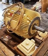 New Reliance 60 Hp 3 Phase Air Over Nuclear Service Motor /  B549766-010t2dm
