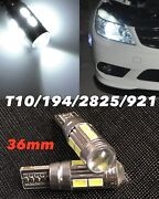 Parking Light T10 Smd Led Bulb No Canbus Error W5w 168 194 2825 For Nissan