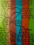 Art Abstrait Moderne Abstrait Toile 60x80 Cm Signandeacute I Carry Your Heart With Me