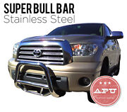 Apu Bull Bar Grille Guards Stainless Steel Fits 01-07 Toyota Highlander