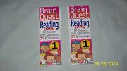 Brain Quest Grade 1 Deck 1 And Deck 2 Reading Basics, Brand New Condition 2000