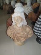 Beautiful Hand Carved Marble Christ Bust Jq025