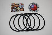 National Geographic And Dr. Cool Rock Tumbler Replacement Drive Belt 5 Pack