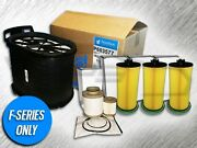 6.0l Turbo Diesel Air Filter 3 Oil And Fuel Filter Kit - Replaces Fa1746 Fd4604