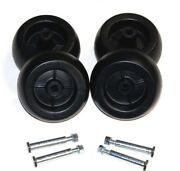 Craftsman Riding Lawn Mower Deck Wheels And Bolts 4 Pack 133957 193406 092683ma