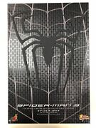 Hot Toys Mms 165 Spiderman Spider-man 3 Black Suit Version Normal Ver New