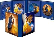 New Beauty And The Beast 1991 2017 Movienex Collection 2 Blu-ray 2 Dvd Japan