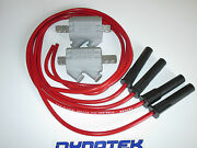 Yamaha Fz600 2.2 Ohm Dyna Performance Ignition Coils And Taylor Leads.red