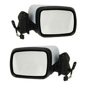 10-13 Lr4 Rear View Door Mirror Power Heated W/memory And Without Camera Pair Set
