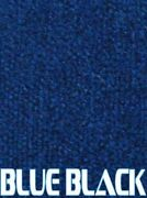 Boat Trailer Bunk Carpet - 16oz - 12 In Wide X 100and039 Ft Long - Blue Black