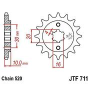 Pinion Attack Transmission Front