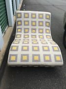 Mid Century Modern Chaise Lounge Chair Adrian Pearsall Wave Vintage