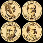 A 2012 Presidential Dollar Complete 4pc Set Brilliant Uncirculated Coins