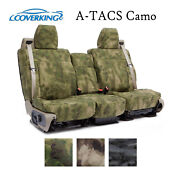 Coverking Custom Seat Covers Ballistic With A-tacs Camo - Choose Color And Rows