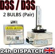 D3s Hid Xenon Replacement Bulbs - Superior Quality Bi Audi A3 S3 A4 B8 S5 Rs5