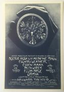 1972 Doctor Hook And The Medicine Show Hayward Theather Ca Signed Handbill