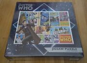 Doctor Who Comic Collage 1000-piece Jigsaw Puzzle Dalek Cybermen Oop Rare New
