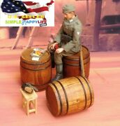 1/6 Scale Wooden Barrel Toy Model Wwii German Fit 12 Action Figure Phicen ❶usa❶