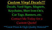 Custom Order Vinyl Decal For Walls Banners Signs Tag Monster Low Price