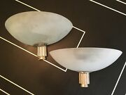 Large Rare Antique Art Deco Sconces - Purchased For Over 7k