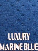 Outdoor Marine Boat Carpet - 24 Oz - 8.5and039 X 30and039 - Color Luxury Marine Blue
