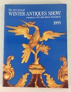 Antiques Show Catalogue East Side House Settlement Nyc 41st Annual Winter 1995