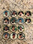 Topps All-star Baseball Coins - Hank Aaron, Willie Mays, And Others - 14 Coins