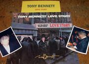 Tony Bennett Autographed Album Nice And Photos Very Collectible