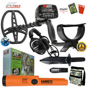 Garrett At Max Underwater Detector Pro-pointer At Z-lynk Ms-3 Headset And More