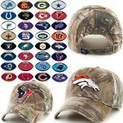 Nfl Realtreeandtrade Camo Relaxed Fit Hat By And03947 482588-j