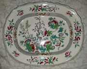 Super Salecharles Meigh And Son 19th C. 16 5/8 Platter C. 1835-1861