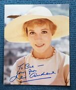 Julie Andrews Sound Of Music Studio 8x10 Signed Autograph  Hollywood Posters