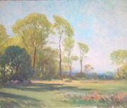 Original Oil On Canvas.unfinished.atributed To Charles Chapel Judson1864-1946