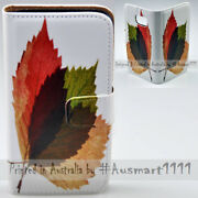 For Google Pixel Series Mobile Phone 3 Autumn Leaves Print Flip Case Phone Cover