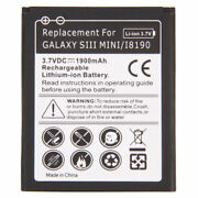 Replacement Internal 1900mah Battery For Samsung Galaxy S3 S Iii Mini New Usa
