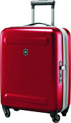 100 Genunie Victorinox Etherius - 55cm Global Carry-on Red Suitcase Luggage