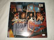Megadeth Signed So Far So Good So What Record Album Dave Mustaine 3 Others Rare