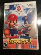 Mario And Sonic At The Olympic Games - Nintendo Wii Brand New Factory Sealed