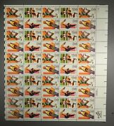 1983 C101, 102, 103, And 104 28c Summer Olympics Stamp Sheet Nh Og Priced Right