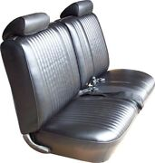 1972 Pontiac Lemans Base Model Front Bench And Coupe Rear Seat Covers - Pui