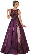 Sale Red Carpet Formal Evening Pageant Dress Special Occasion Prom Queen Gown