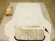 Nos 1957-1958 Cadillac White Convertible Top 1954-1956 Buick 76c Roadmaster