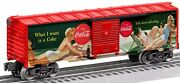 Lionel Coca-cola Vintage Pin-up Girls Boxcar 6-84612 Made In Usa
