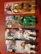 Ty Beanie Babies Set Of 4 Ronald Mcdonald House Charities New Unopened Mint